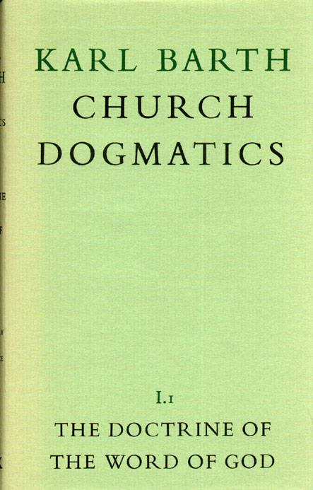 Dogmatics book cover
