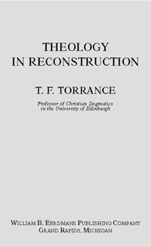 Theology in Reconstruction book cover