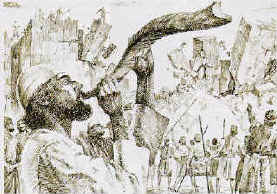 Walls of Jericho fall down