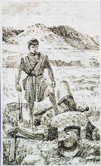 David triumphed over Goliath