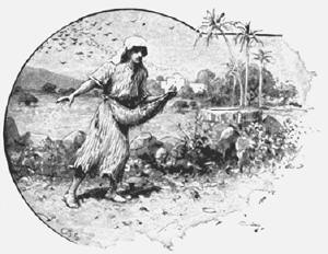 a sower sowing seeds
